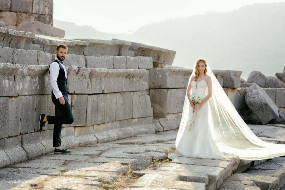 xhantos antik kent fotoğrafı
