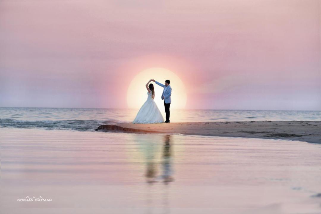 fethiye balayı fotoğrafçısı,gün batımı fotoğrafı