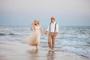 fethiye düğün fotoğrafçısı,sahil,gelin damat